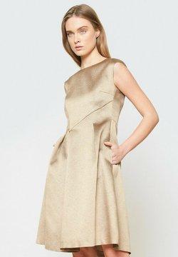 Hexeline - Sukienka koktajlowa - złoto