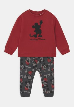 OVS - MICKEY SET - Trainingspak - pompeian red