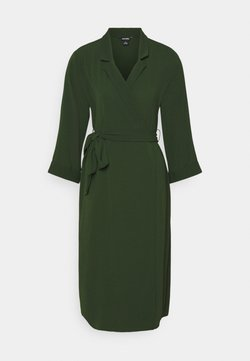 Monki - ANDIE DRESS - Freizeitkleid - dark green