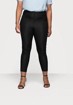 Vero Moda Curve - VMAUGUSTA SKINNY SOLID PANT - Leggings - Trousers - black