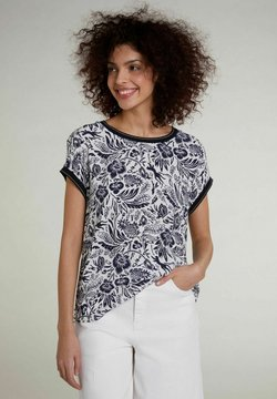 Oui - T-Shirt print -  blue