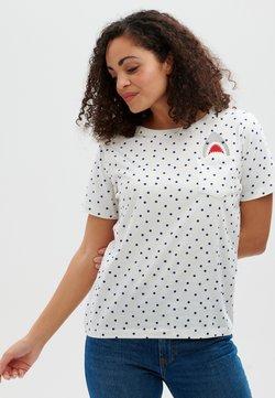 Sugarhill Brighton - MAGGIE POLKA SHARK - T-Shirt print - off white
