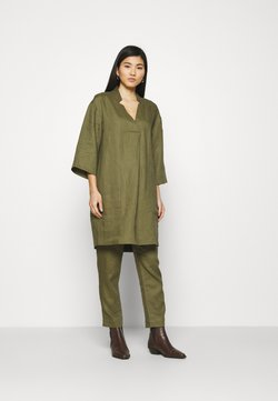 Noa Noa - ESSENTIAL - Tunic - burnt olive