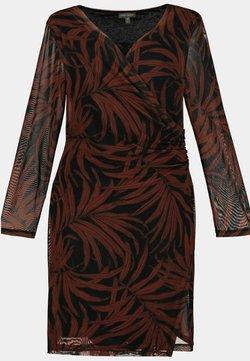GINA LAURA - Jerseyklänning - schwarz