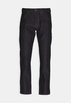 Nudie Jeans - GRITTY JACKSON - Jeans straight leg - dark blue denim