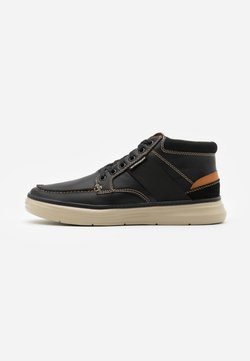 Skechers - MORENO ALAGO - Sneaker high - black/natural