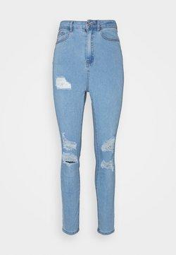 Missguided - ASSETS SINNER - Jeans Skinny Fit - light blue