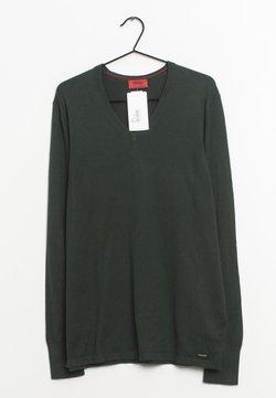 HUGO - Strickpullover - green