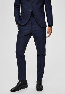 Selected Homme - SLIM FIT - Anzughose - dark blue