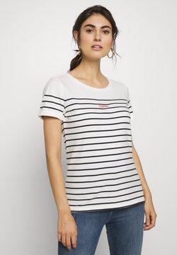 Esprit - STRIPE - T-Shirt print - off-white