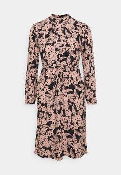Pieces Petite - PCZINE DRESS - Korte jurk - black/misty rose