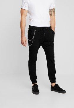 Redefined Rebel - TOBY PANTS - Spodnie materiałowe - black