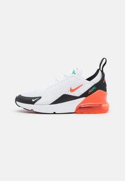Nike Sportswear - AIR MAX 270 UNISEX - Sneaker low - white/turf orange/stadium green/black