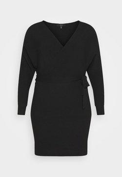 Vero Moda Curve - VMREM DRESS CURVE - Jumper dress - black