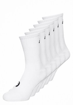 ASICS - 6 PACK - Calcetines de deporte - real white