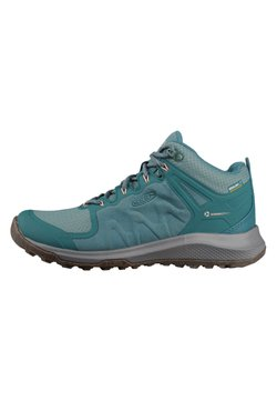 Keen - EXPLORE MID WP - Hikingschuh - chinois green/dusty pin