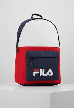 Fila - NEW BACKPACK SCOOL TWO - Reppu - black iris/true red/bright white