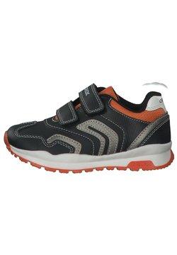 Geox - Sneaker low - black orange