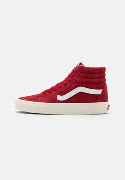 Vans - SK8 UNISEX  - Korkeavartiset tennarit - chili pepper/true white