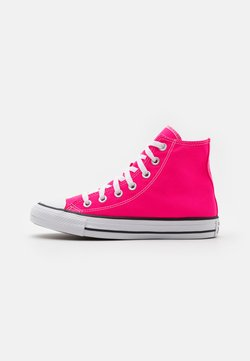 Converse - CHUCK TAYLOR ALL STAR SEASONAL COLOR UNISEX - Korkeavartiset tennarit - hyper pink