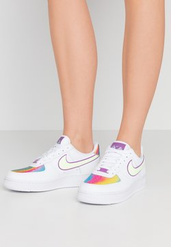 Nike Sportswear - AIR FORCE 1  - Sneakers basse - white/barely volt/hyper blue/purple/washed coral