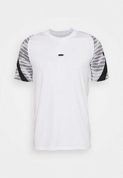 Nike Performance - T-shirt print - white/black/black/black
