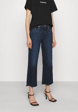 7 for all mankind - CROPPED ALEXA LUXVINCHA - Jeans a zampa - dark blue