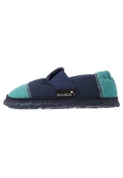 Nanga - KLETTE UNISEX - Tofflor & inneskor - petrol