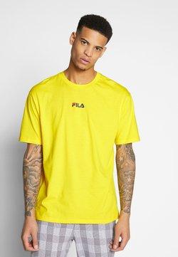 Fila - BENDER - Print T-shirt - empire yellow