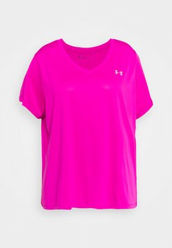 Under Armour - TECH - T-Shirt basic - meteor pink