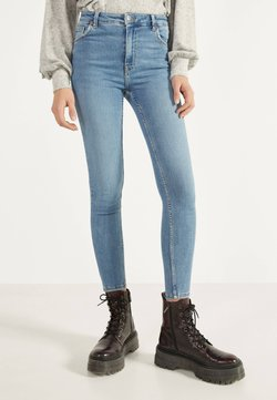 Bershka - Jeans Skinny Fit - blue denim