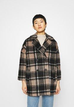 JUST FEMALE - CHELSEA COAT - Classic coat - walnut