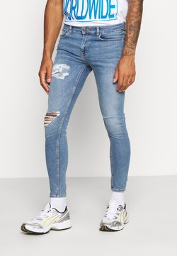 New Look - Slim fit jeans - light blue
