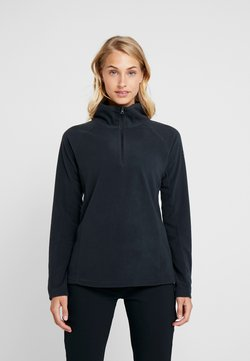 Columbia - GLACIAL 1/2 ZIP - Fleecepullover - black