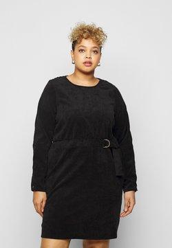 Noisy May Curve - NMMICK SHORT DRESS CURVE - Freizeitkleid - black