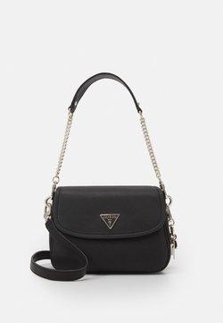 Guess - HANDBAG DESTINY SHOULDER BAG - Käsilaukku - black