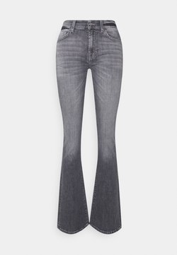 7 for all mankind - BOOTCUT SOHO - Bootcut jeans - grey