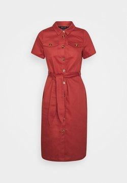 King Louie - KATY DRESS STURDY - Skjortekjole - desert red
