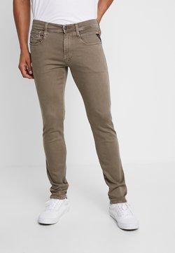 Replay - ANBASS HYPERFLEX - Jeans slim fit - brown
