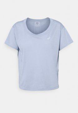 ASICS - RACE CROP - T-Shirt print - mist