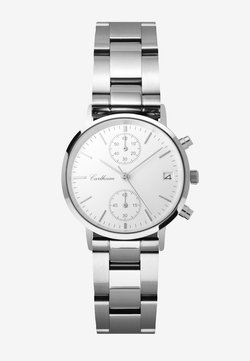 Carlheim - TILFREDSHED 34MM - Rannekello ajanottotoiminnolla - silver-white