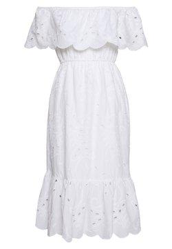 Dorothy Perkins Petite - BRODERIE OCCASION DRESS - Freizeitkleid - ivory