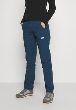 The North Face - WOMENS QUEST PANT - Stoffhose - blue wing teal