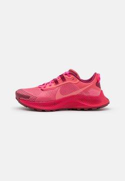 Nike Performance - PEGASUS TRAIL 3 UNISEX - Vaelluskengät - archaeo pink/pink salt/hyper pink/rush maroon/black/reflect silver