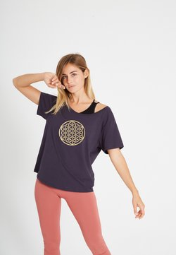 Yogasearcher - T-Shirt print - gold