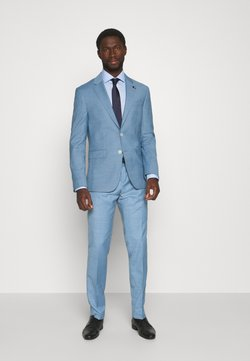 Tommy Hilfiger Tailored - FLEX SLIM FIT SUIT - Anzug - blue