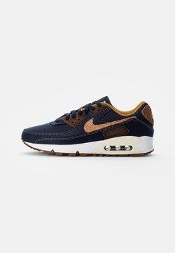 Nike Sportswear - NIKE AIR MAX 90 - Sneakers laag - obsidian/wheat-coconut milk-white