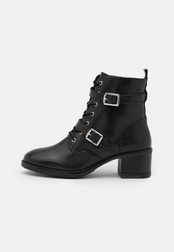 Dune London - PAXTONE - Bottines à lacets - black
