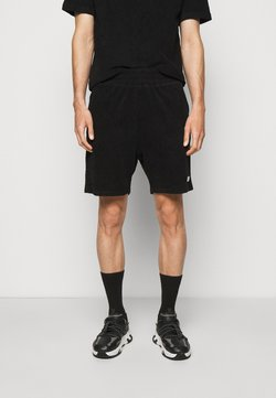 032c - TOPOS SHAVED TERRY - Shorts - black