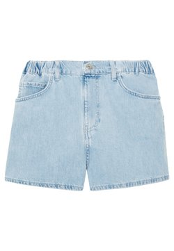 Topshop - SOFIA PULL ON - Jeansshort - bleached denim